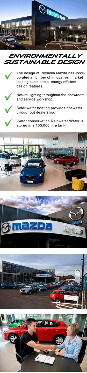 Reynella Mazda is Environmentally Friendly Dealership with a low Carbon Foot Print